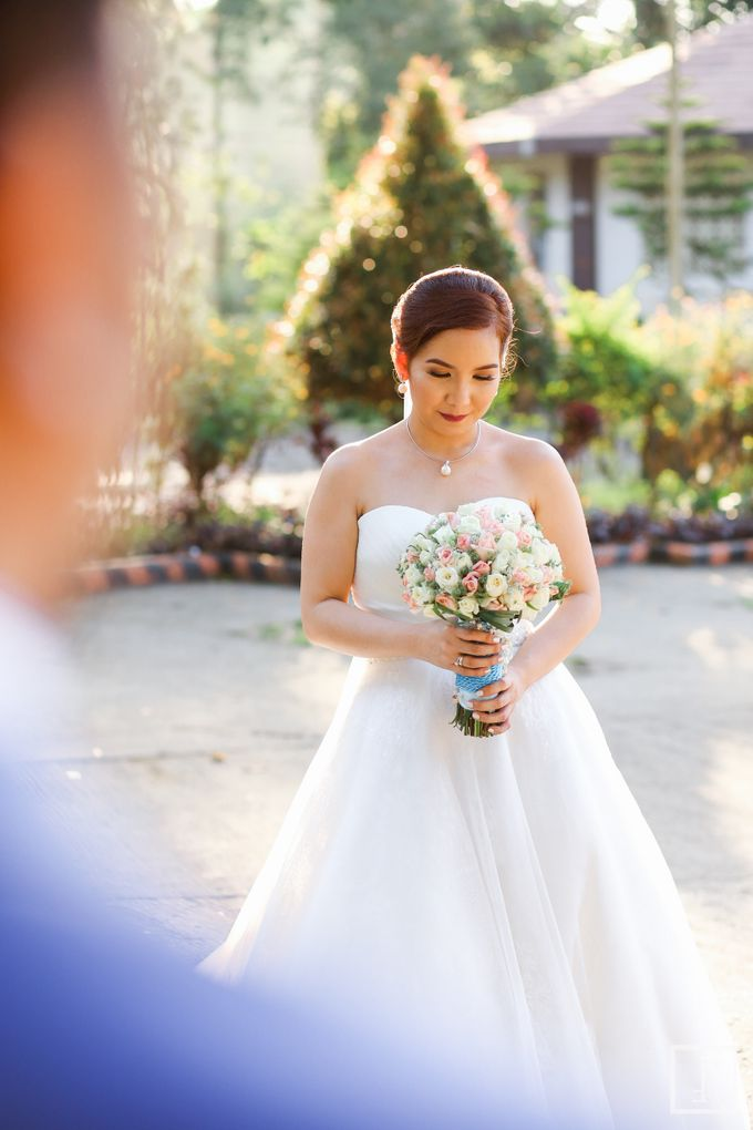 Blue Themed Wedding of CJ  and  Jane by Peach Frost Studio - 047