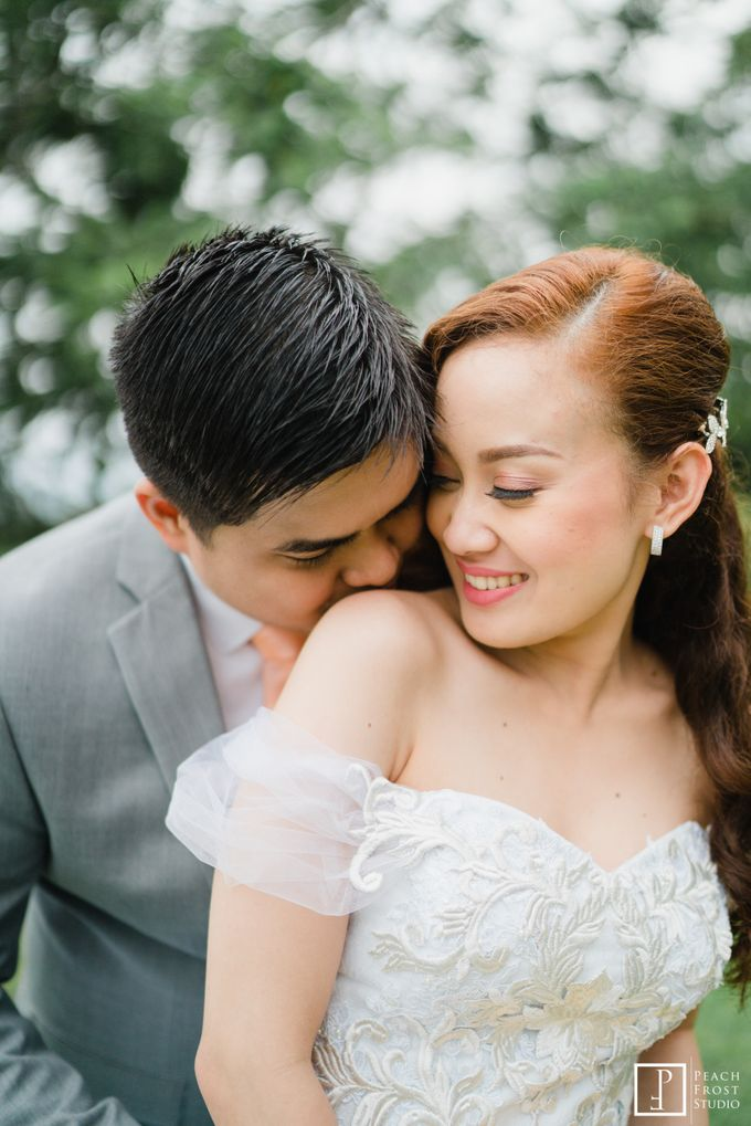A Peach Themed Tagaytay Woodlands Wedding of Tina & Niel by Peach Frost Studio - 042