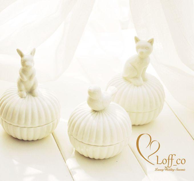 Luxury Crystal Grid & Ceramic Jar by Loff_co souvenir - 002