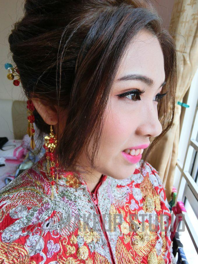 Bride Actual Day by Suz Make Up & Hairdo - 014