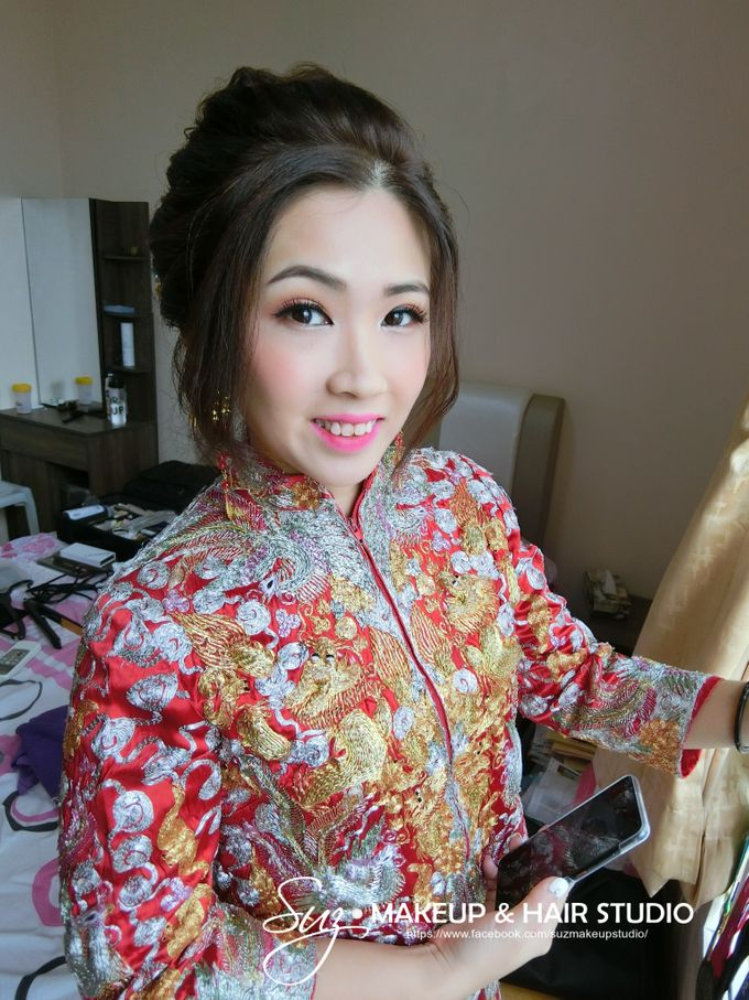 Bride Actual Day by Suz Make Up & Hairdo - 015