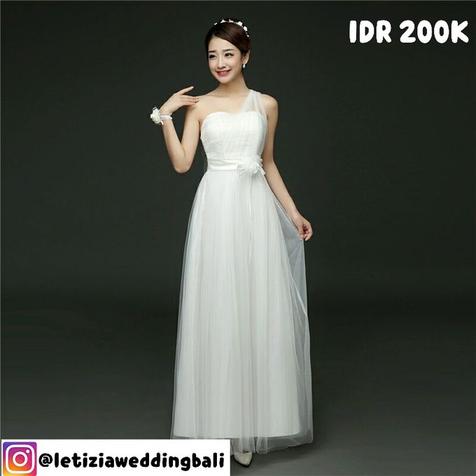 Cheapest Dress Rental In Bali 200K Only by Letizia Wedding - 003
