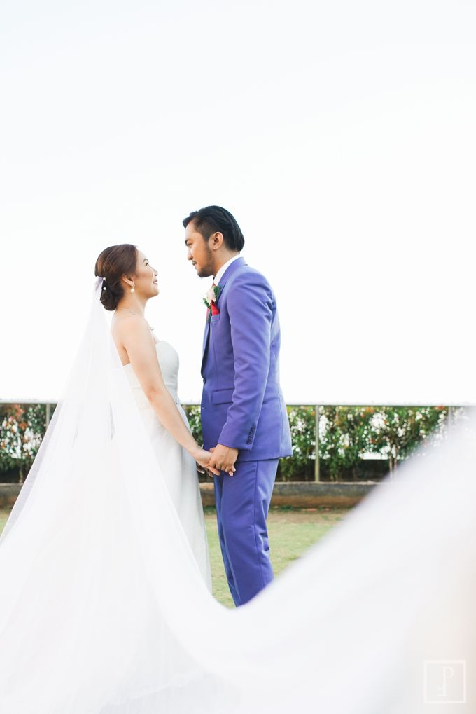 Blue Themed Wedding of CJ  and  Jane by Peach Frost Studio - 048
