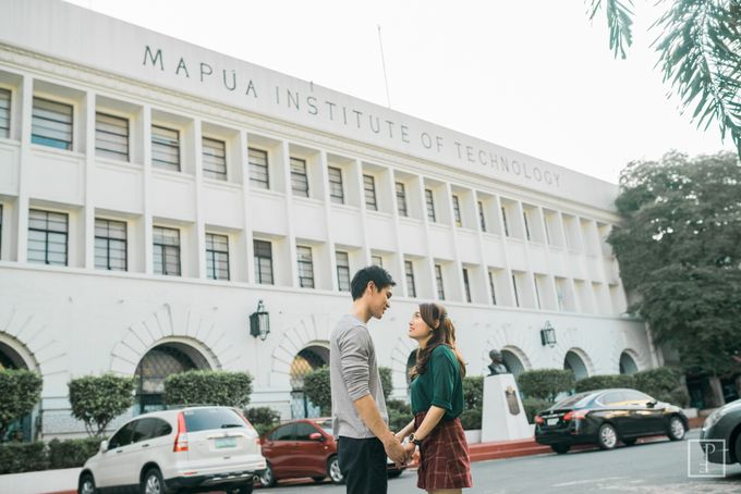 College Sweethearts  School Themed Engagement session with an Elegant twist by Bride Idea - 027
