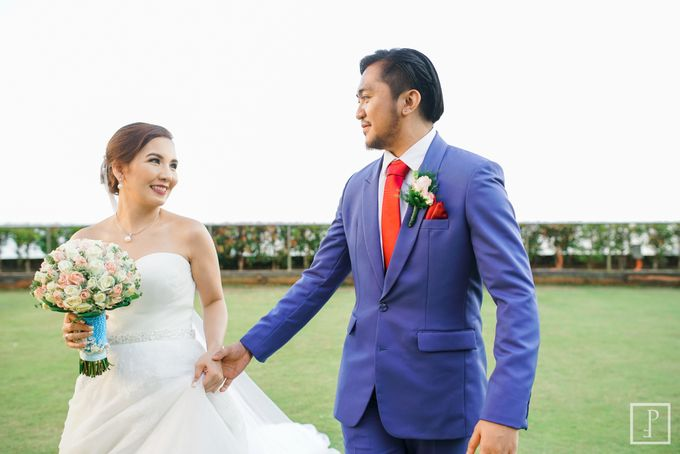 Blue Themed Wedding of CJ  and  Jane by Peach Frost Studio - 049