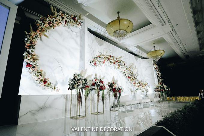 Glenn & Jesslyn Wedding Decoration by Valentine Wedding Decoration - 017