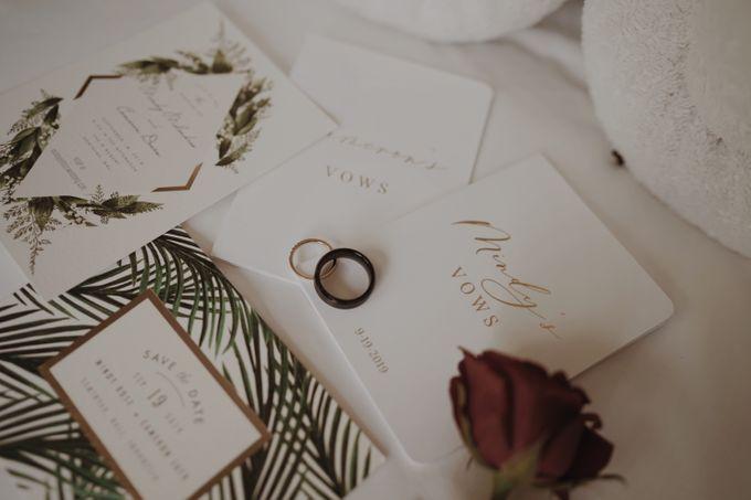 Mindy & Cameron Wedding at W Hotel Bali by AKSA Creative - 017