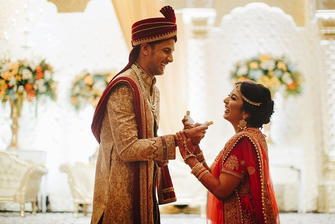 Sahil & Sita Wedding by Hilda by Bridestory - 014
