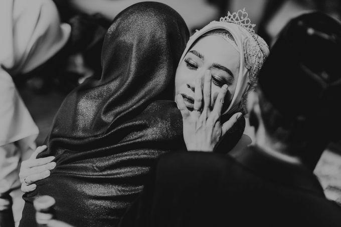 Aisyah & Aziz Wedding at Azila Villa by AKSA Creative - 017