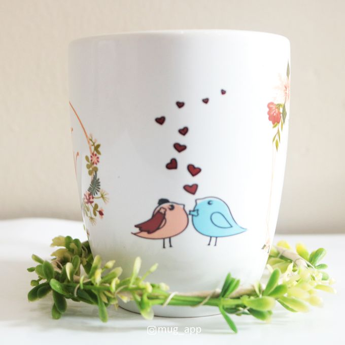 MUG CORNING WEDDING KAZUYA & NADIA by Mug-App Wedding Souvenir - 004