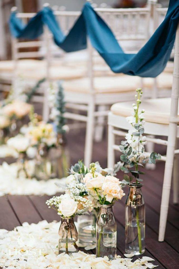 Roof of Stars Solemnisation Wedding by Botanico @ The Garage - 009