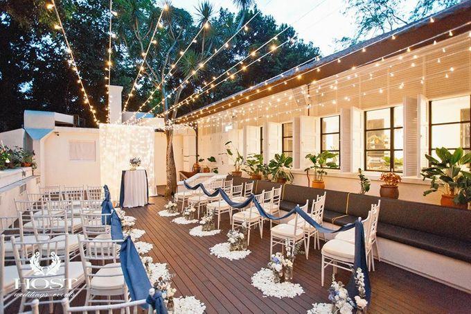 Roof of Stars Solemnisation Wedding by Botanico @ The Garage - 010