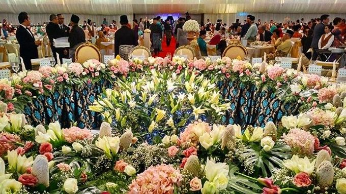 Wedding Reception at BCCK, Kuching by The Veil - 007