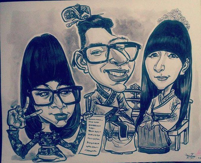 Wedding Souvenir by Bali Karikatur - 004
