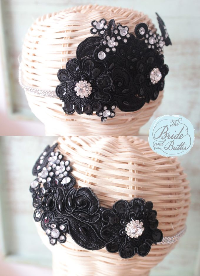 Custom Hairpiece by The Bride and Butter - 005