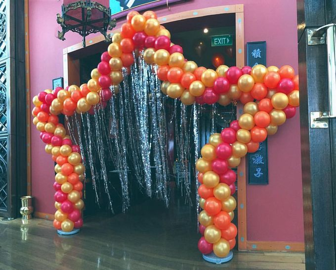 Wedding Arch by Balloon Blasters - 005
