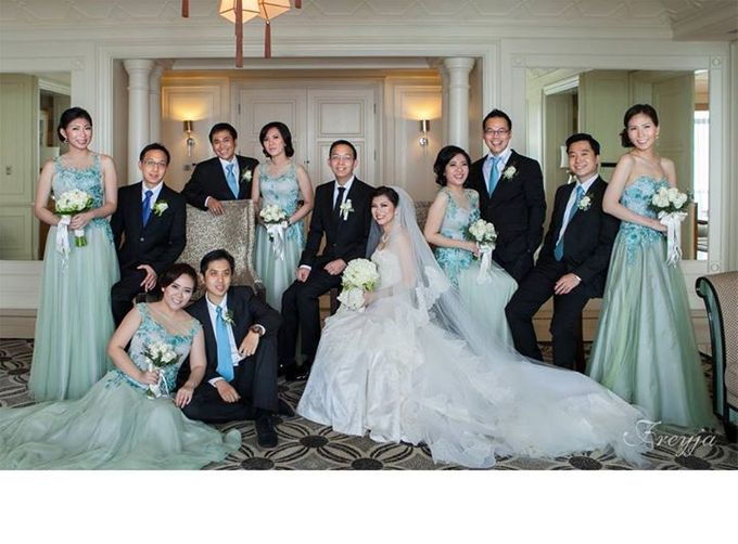 Anastasia & Daniel Kumala. The Chinoiserie Wedding. by Freyja ...