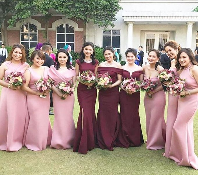 Customized Bridesmaids Dresses by White Label Bridal - 007