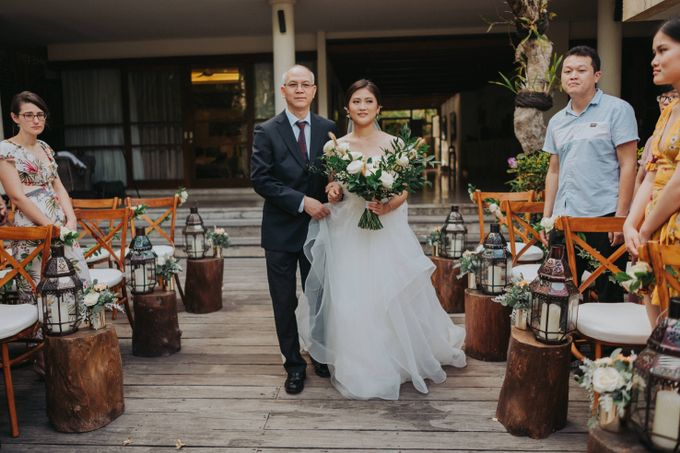 Intimate Wedding in Canggu by Silverdust Decoration - 019