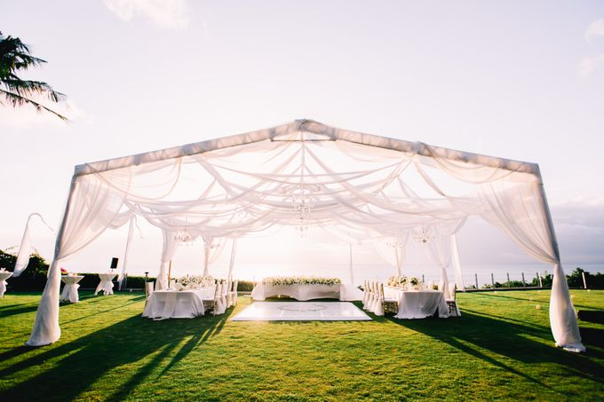 The Wedding of  Tian & Michael at Ayana Villa by Red Gardenia - 017