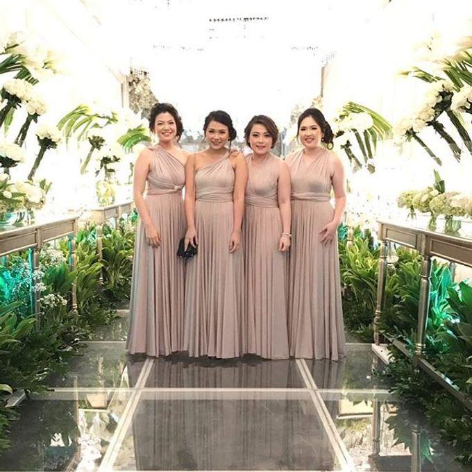 Beige at Frangky Amor Wedding by Imelda Hudiyono Bride - 002