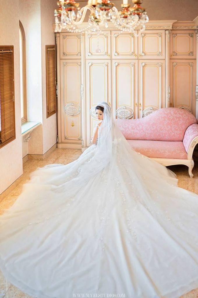 WEDDING DAY FOR RUSSEL & STELLA by Fedya Make Up Artist - 001