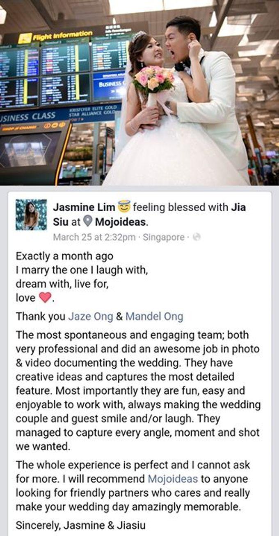 Real Wedding Testimonials by Mojoideas - 037