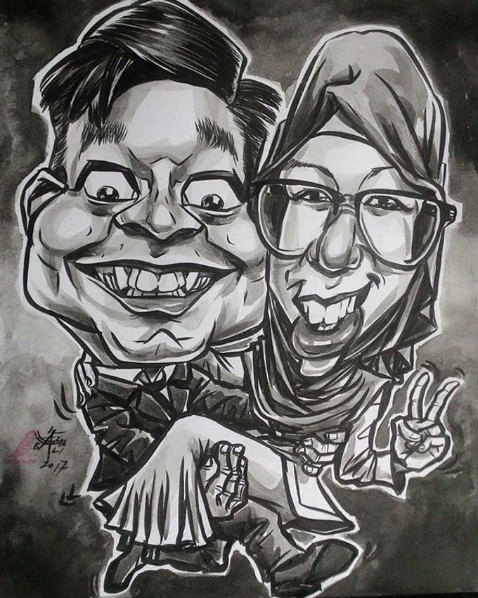 Wedding Souvenir by Bali Karikatur - 002