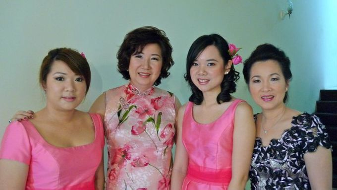 Bridesmaids & Mothers Makeup & Hairstyling by Immortelle Atelier - 001