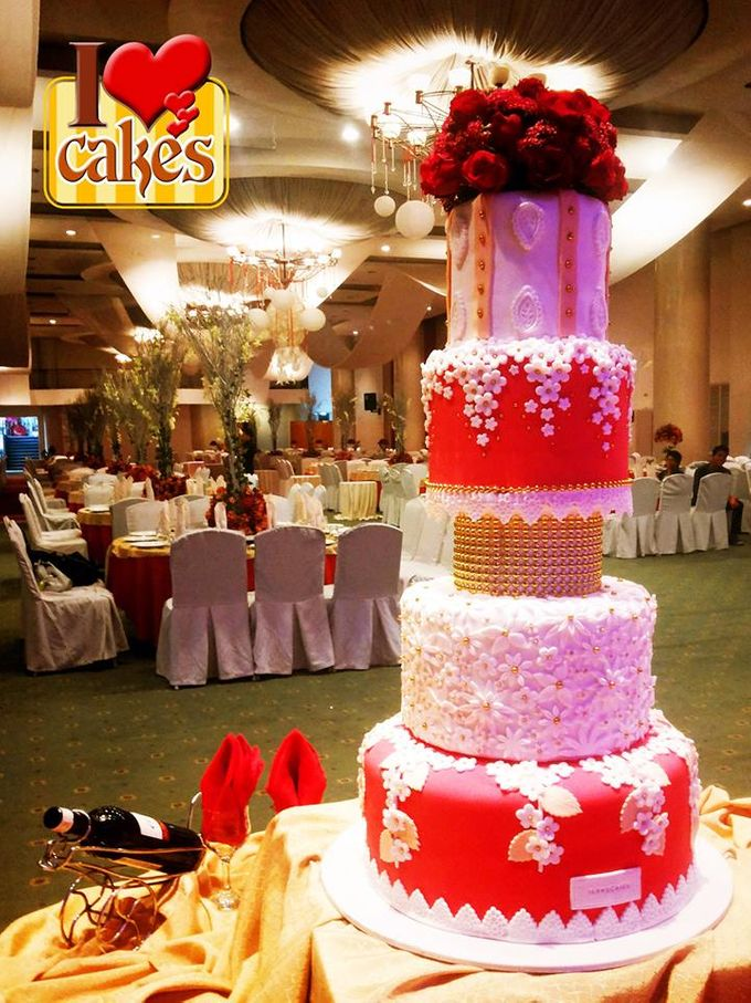 Wedding Cakes by I Love Cakes - 004