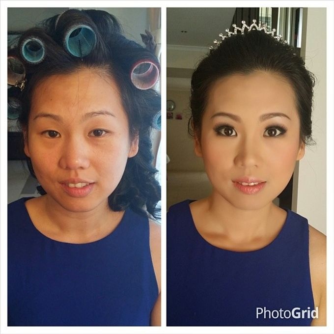 Before and After by Elly Liana Makeup Artist - 018