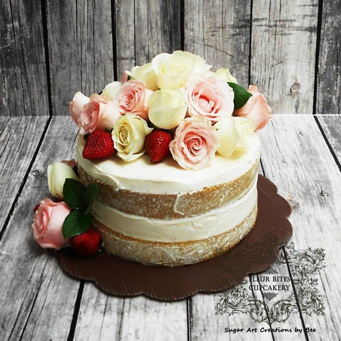 Engagements & Wedding Cakes by Fleur Bites Cupcakery - 010