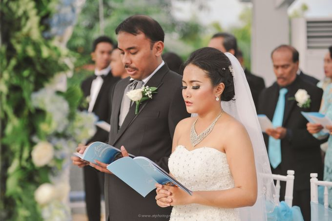Andy & Dini - Wedding in Bali by AT Photography Bali - 016