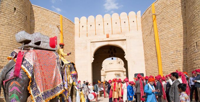 wedding at jaisalmer by Yesha Weddings Destination Wedding Planner - 013