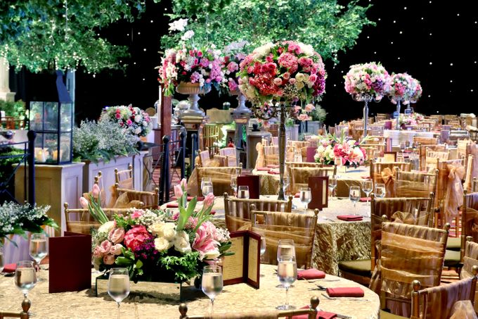 The wedding of Aby and Arsila by Amarillis Floral and Party Decorator - 004