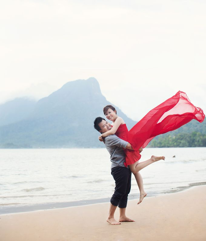Rizky & Yeni Pre-Wedding by HD Photography - 010