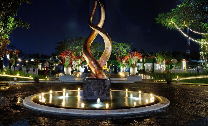 Wedding at On Green by Raffles Hills Cibubur - On Green Garden Venue - 012