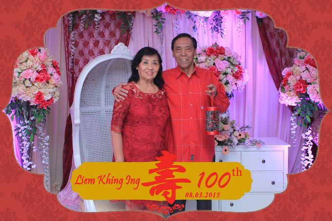 One Hundred Birthday of Liem Khing Ing by After 5 Photobooth - 009