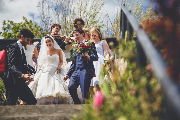 Clare and Ben's Marine Theatre wedding, Lyme Regis by Andrew George Photography - 017