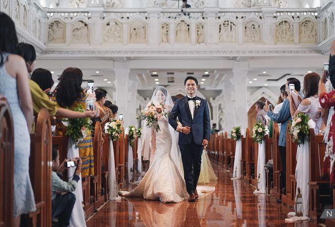 Reinaldo & Beatrice Wedding by NOMINA PHOTOGRAPHY - 018