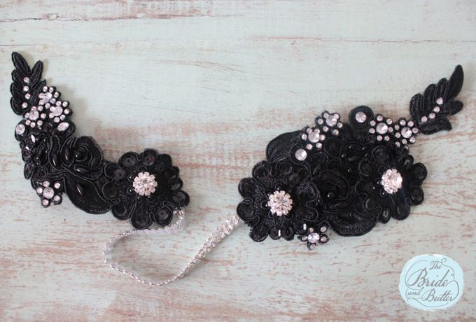 Custom Hairpiece by The Bride and Butter - 006