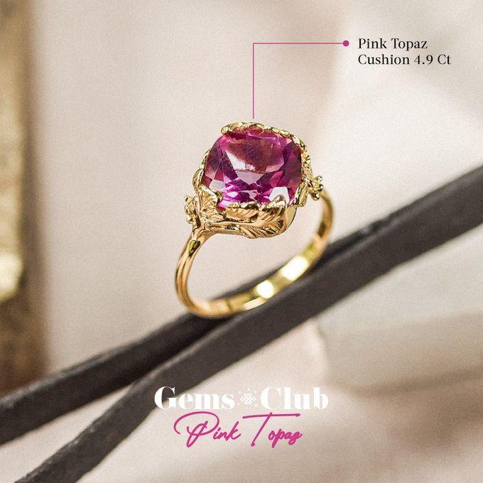 """Gemsclub """"Pink Topaz"""" by Tulola - 008"""