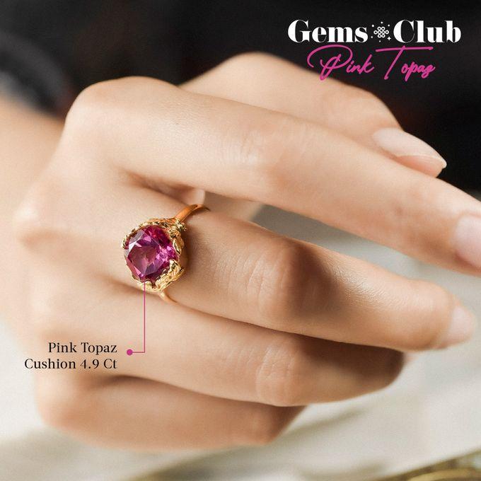 """Gemsclub """"Pink Topaz"""" by Tulola - 009"""