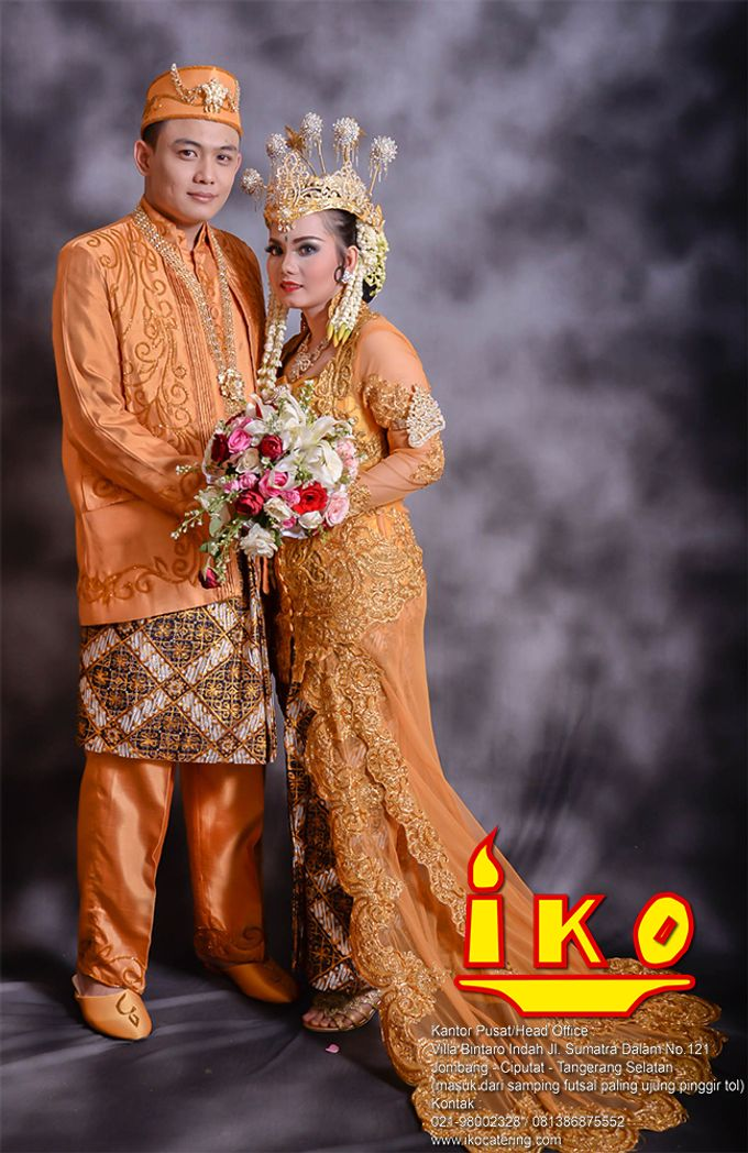 Rias & Busana Pengantin by IKO Catering Service dan Paket Pernikahan - 044