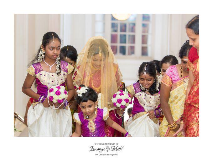 Wedding of Ishwariya & Mathi by DR Creations - 019