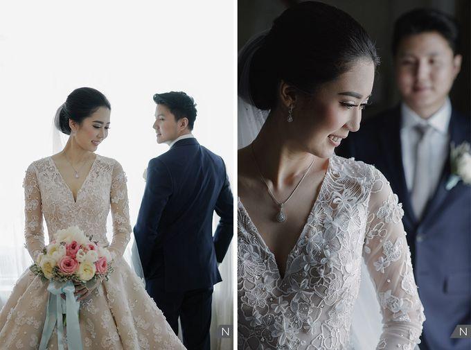 Felix & Hanna Wedding by Shangri-La Hotel - 018