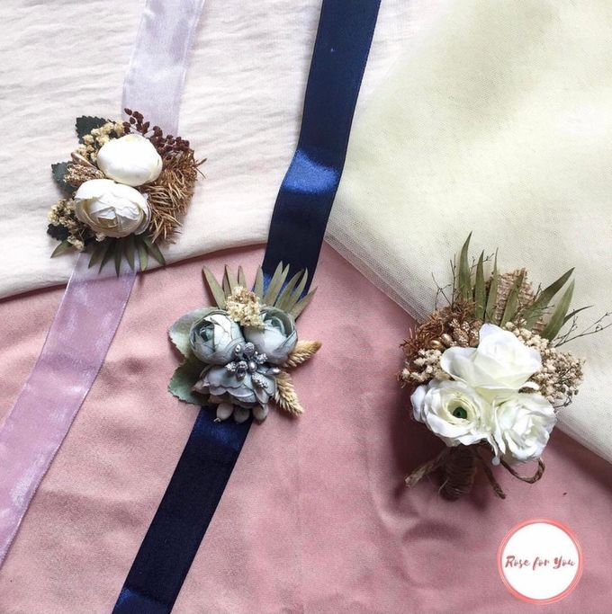 Boutonniere & Corsage by Rose For You - 018