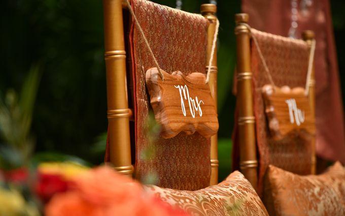 Minangkabau Traditional wedding set up at The Glass House by Tirtha Bridal - 018