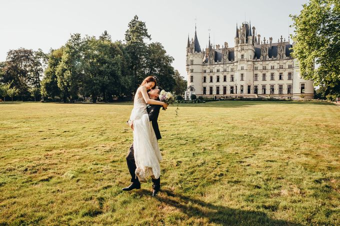 Kaylen & Anson by Chateau Challain Events - 034