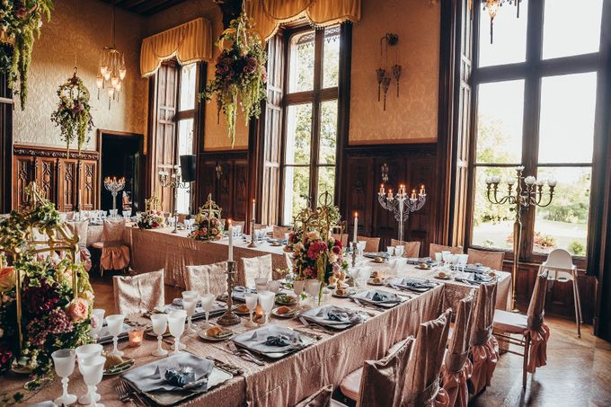 Kaylen & Anson by Chateau Challain Events - 023